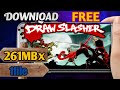 Download D.R.A.W Slasher||Apk+Data||Best Action Cartoon Game||Free||Gameplay Proof||Hindi