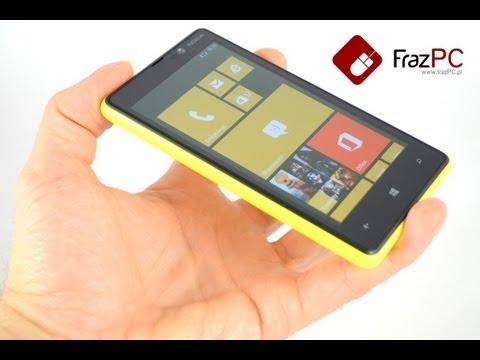 Nokia Lumia 820 - Wideo recenzja na FrazPC.pl