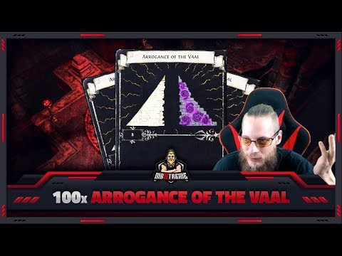 "[PATH OF EXILE] – 100x ""ARROGANCE OF THE VAAL"" – DOUBLE CORRUPTION MADNESS!"