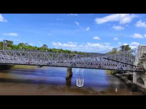 Buzz Visits Brisbane's Heritage Listed Walter Taylor Bridge​