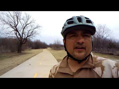 Riding the trails at Trinity River Audubon Center, great adventure part4 of 7