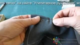 як зробити копіювальний стібок на тканини