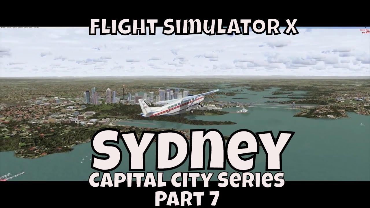 flight simulator x sydney australia city loop youtube. Black Bedroom Furniture Sets. Home Design Ideas