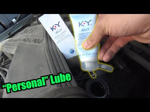 Can You Use KY JELLY as ENGINE OIL?