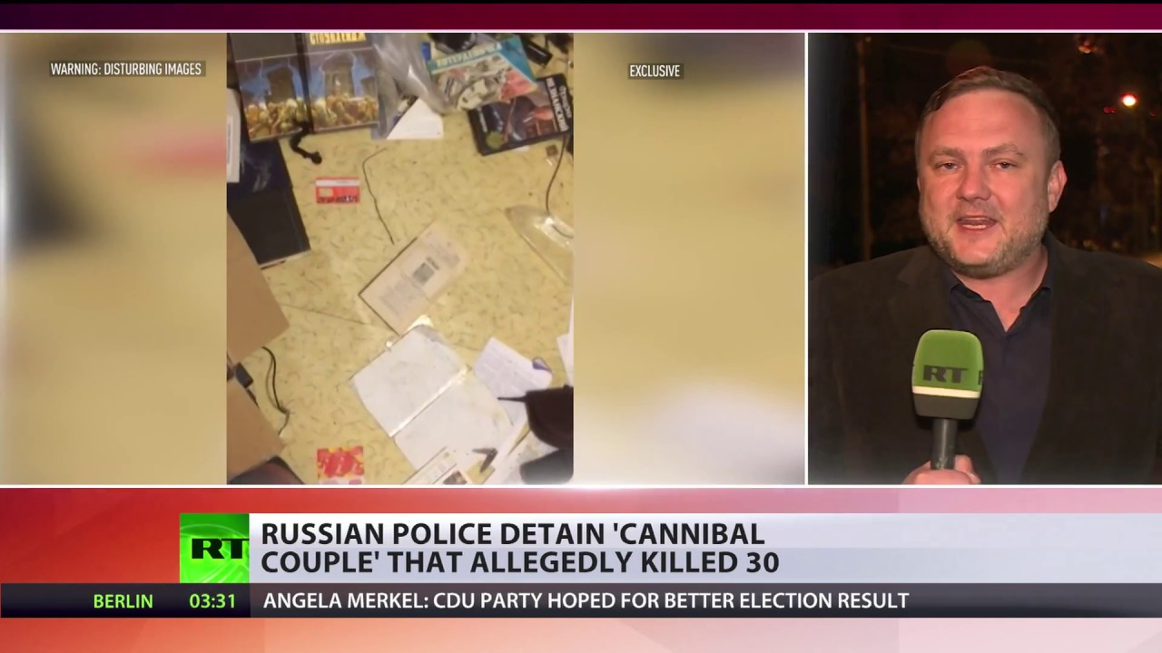 Russian cannibals found in Africa
