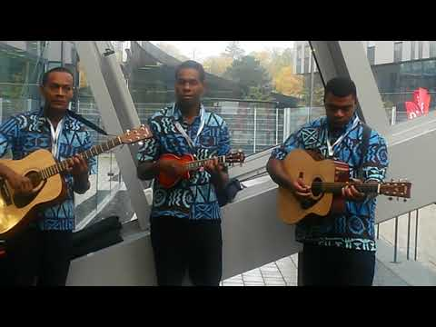 Trio from Fiji on the last day of COP23 in Bonn