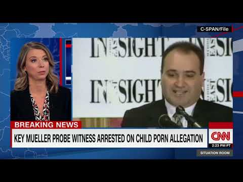 Russia probe witness arrested on child pornography charges from YouTube · Duration:  1 minutes 10 seconds