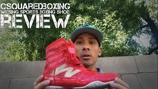 Wesing Sports Boxing Shoes Review