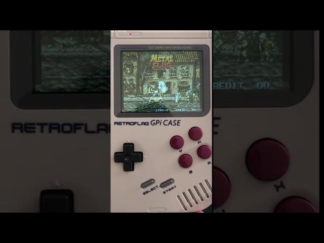 Vidéo Metal Slug sur la Retro Gameboy de www.2players.shop
