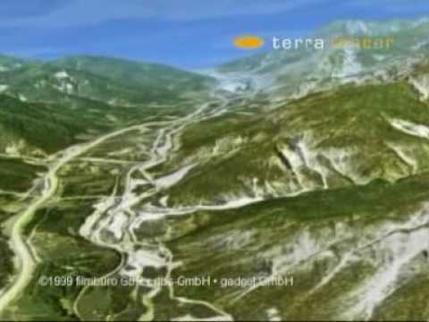 Terratracer Demo Reel 1999 in Tarvisio, Northern Italy