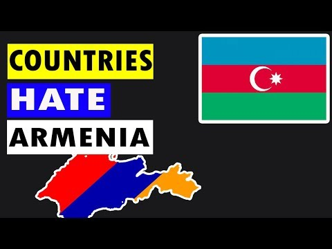 🇦🇲Top 10 Countries That Hate Armenia🇦🇲 | enemies Of armenia