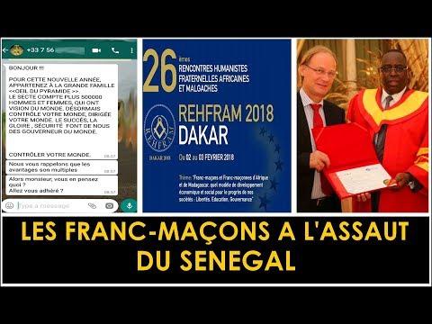 Attention ! Les franc-maçons sont au Sénégal