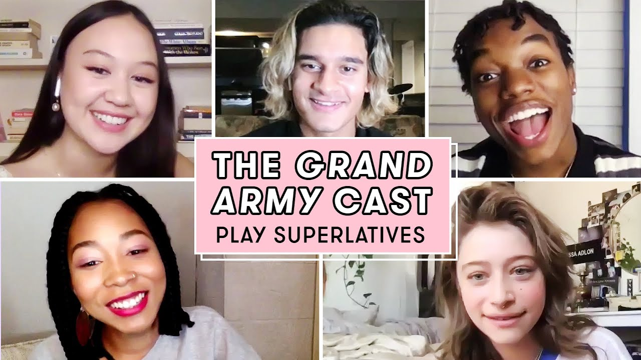 "The Cast of Netflix's ""Grand Army"" Talks Spoilers, Who's Most Like Their Character, and More"