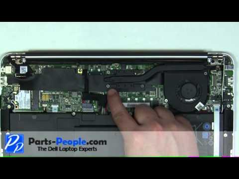 Dell XPS 13 Ultrabook | Heatsink Fan Replacement | How-To-Tutorial