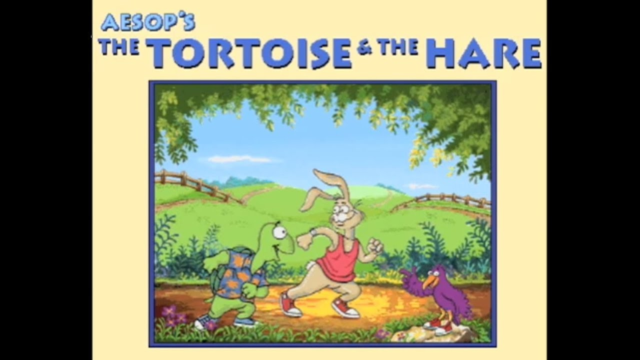 Living Books The Tortoise And The Hare Read To Me Youtube