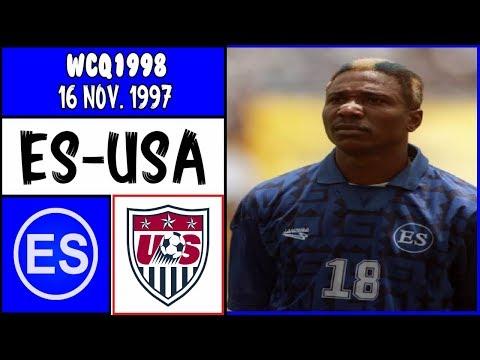 Nildeson DeMelo : El Salvador - Gol vs. USA : WCQ1998