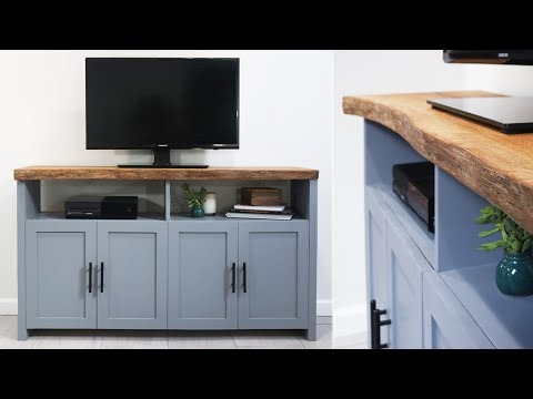 DIY Live Edge Cabinet | How To