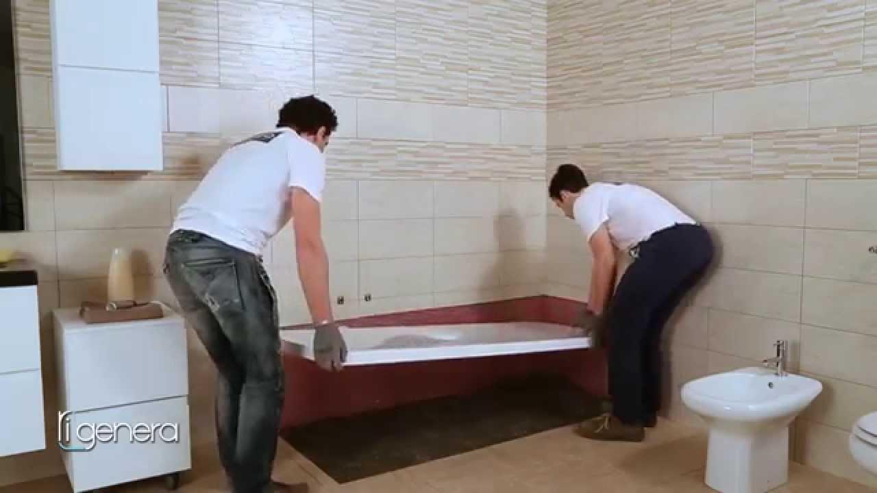 Rigenera - Sostituzione della vasca con la doccia - YouTube