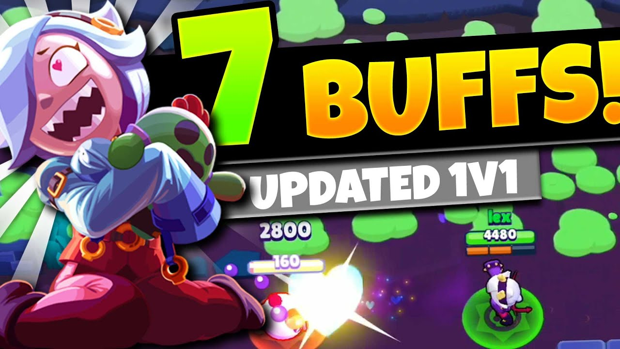 COLETTE OP NOW? | 7 buffs! | Updated 1v1 interactions vs all Brawlers