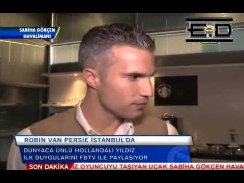 Robin van Persie ●The first interview~~{ERCAN DUMANLI}
