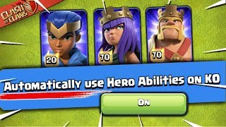 Automatic Hero Abilities = ON! The Update Challenge for Town Hall 13 (Clash of Clans)
