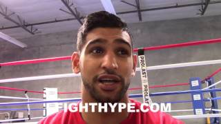 AMIR KHAN RIPS KELL BROOK; SAYS HE
