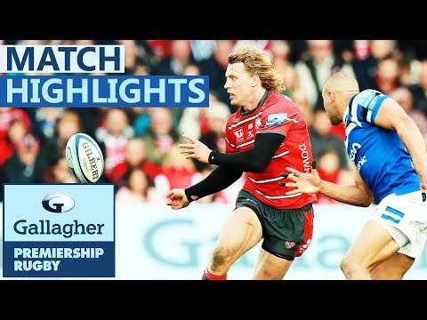 Gloucester 27-23 Bath | Gloucester Close-In on Play-Off Spot | Gallagher Premiership - Highlights
