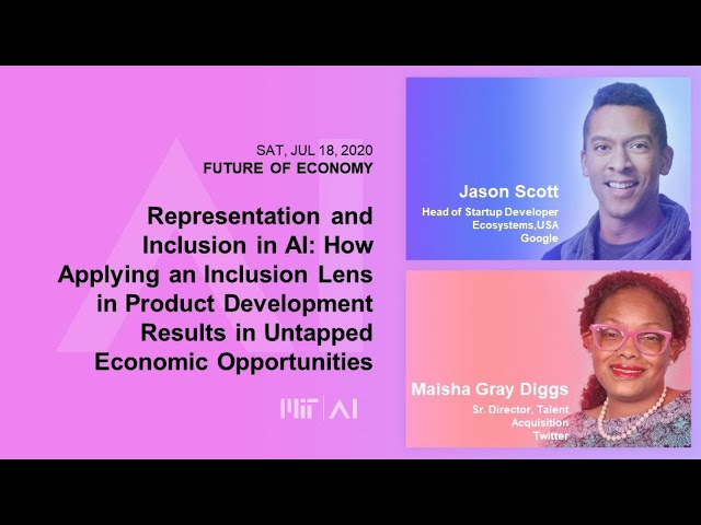 8am: Representation and Inclusion in AI