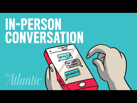 When In-Person Conversation Is Better Than Texting