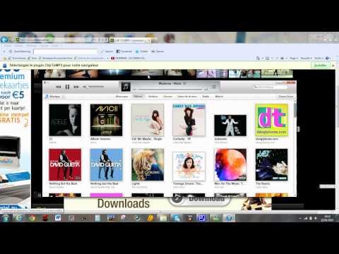 comment télécharger une musique gratuitement et l'ouvrir sur itunes + une image