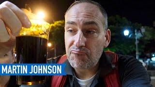 Drinking Kopi Joss (Charcoal Coffee) in Yogyakarta   Indonesian Food   Martin Johnson
