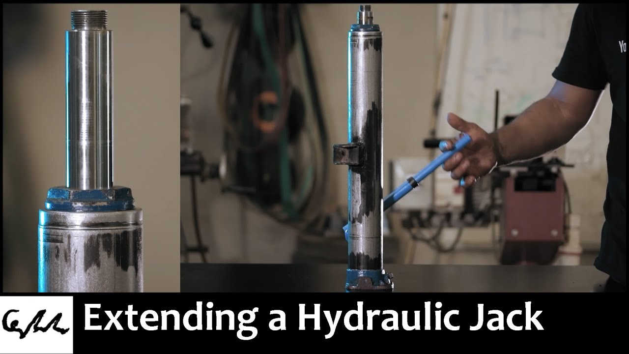 Extending a Hydraulic Jack