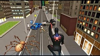 ► Multi Spider Super Heroes Crime City Warrior - Spiderman With Spider Attack Android Gameplay
