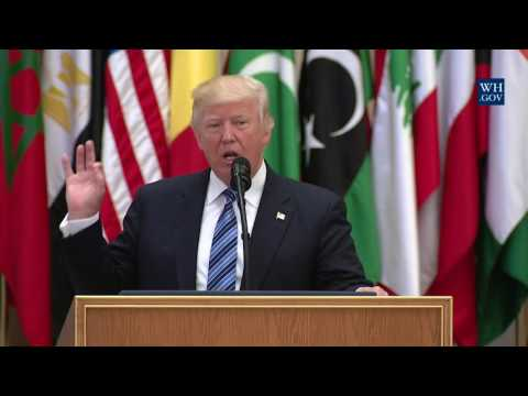 President Trump Participates in the Arab Islamic American Su
