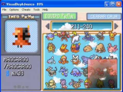 Pokedex Completa Pokemon Rojo Fuego Youtube
