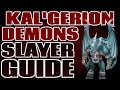 Kal'Gerion Demons Guide and Loot: 180K+ Slayer XP/Hour [Runescape 2014]