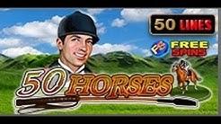 50 Horses - Slot Machine - 50 Lines + Bonus games