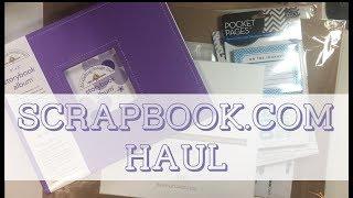 Scrapbook.com Haul