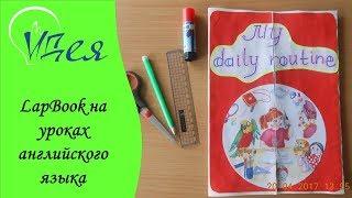 Lapbook на уроках английского языка