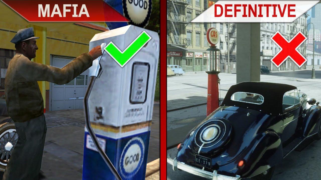 THE BIG COMPARISON 2 | Mafia vs. Mafia Definitive Edition | PC | ULTRA