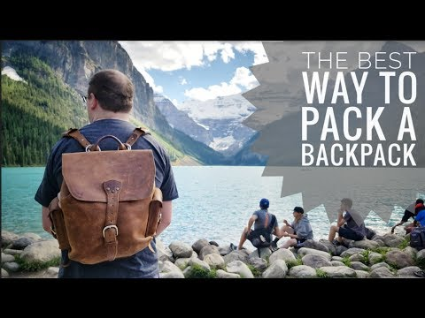 What's in my Backpack - Art Supplies for Plein Air | Medium Simple Backpack | Saddleback Leather