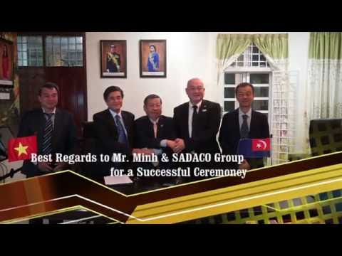 Mersing Goldmine & SADACO Memorandum Signing Ceremony in Malaysia