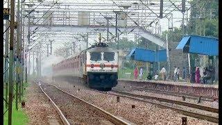 FAST AND FURIOUS TRAINS [14 IN 1] : RAJDHANI + GARIB RATH + SUPERFAST TRAINS : INDIAN RAILWAYS
