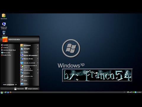 windows xp sp3 darklite edition free