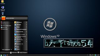 Windows XP Professional Dark Style SP3 x86.IT -2015