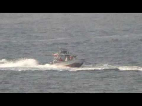 U.S. Navy Destroyer USS Nitze Harassed by Iranian Patrol Boats