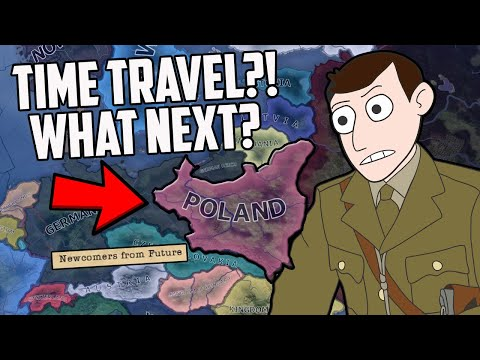 What If Poland Was Saved With Time Travellers?! HOI4