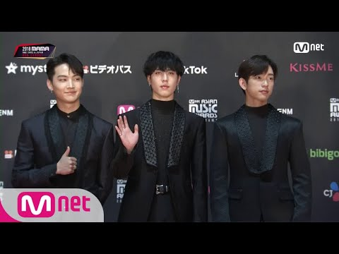 Red Carpet With GOT7 JB, Yugyeom, Jinyoung│2018 MAMA FANS' CHOICE In JAPAN 181212