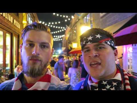USA VS ARGENTINA || BEATEN BY THE BEST || COURTYARD HOOLIGANS