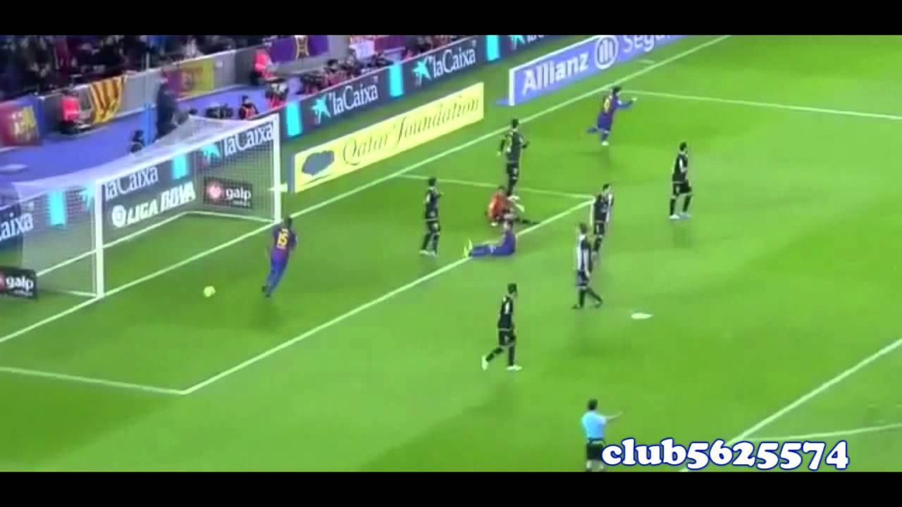 Barcelona VS Levante 5 0 YouTube